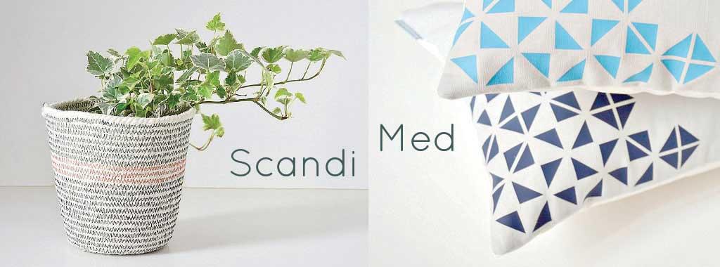 scandinavian mediterranean style